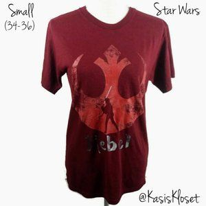 📌4/$20 Star Wars Rebel Graphic Tee Mens Small
